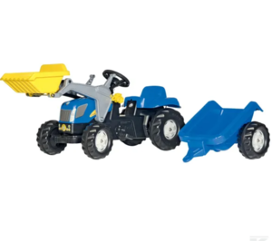 RollyKid New Holland TVT190 avec chargeur frontal