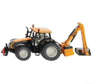 Valtra+faucheuse d'accotement